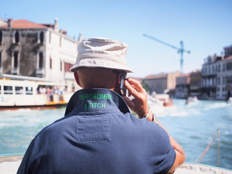 Vaporetto Driver, Venice, Italy