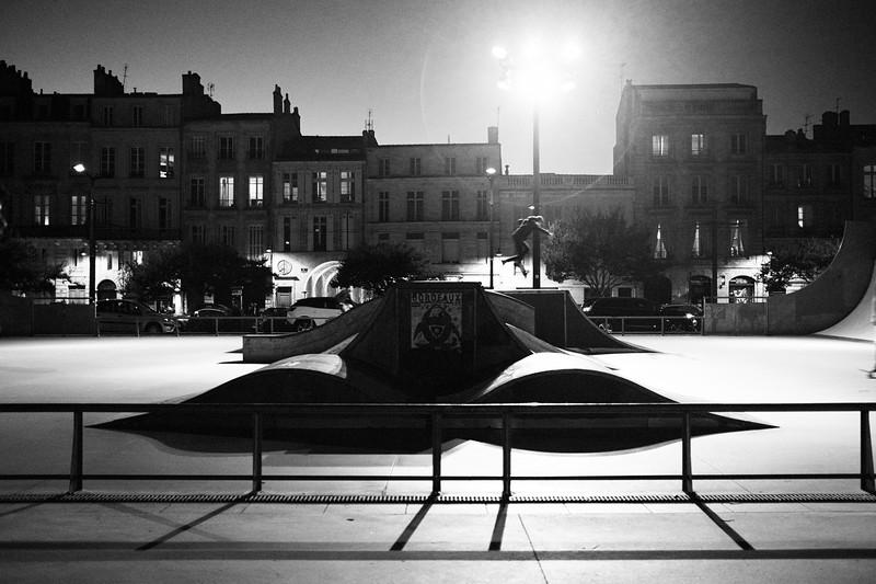 Skate park | Bordeaux, France | September 2018