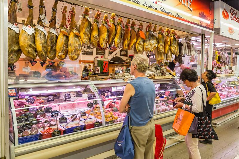 Jambon Vender, Nimes Market