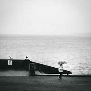 Gray day at Alki Beach | Seattle, WA | February 2018