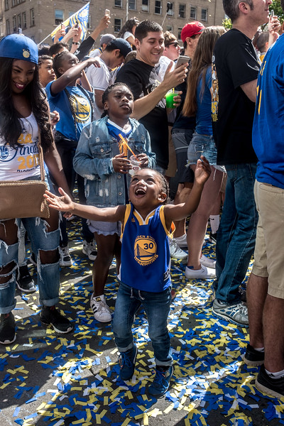 Warriors Parade 2017, I