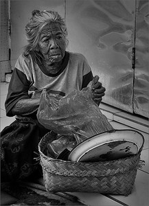 Bali Street Lady