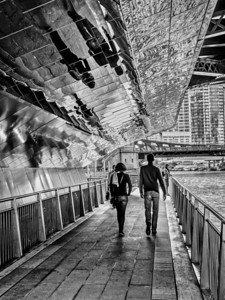 Chicago Riverwalk - Under the Bridge