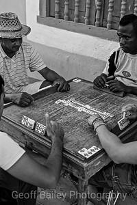 Dominos in Cuba