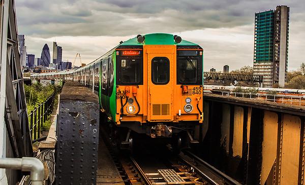 South Bermondsey station, London