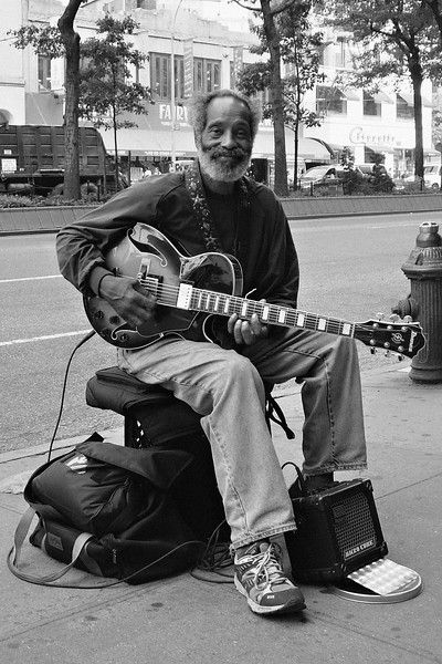 New York City Street Musician 2005