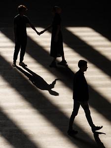 Sun Trails At The Tate Modern