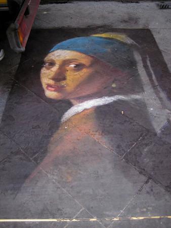 Vermeer Street Art