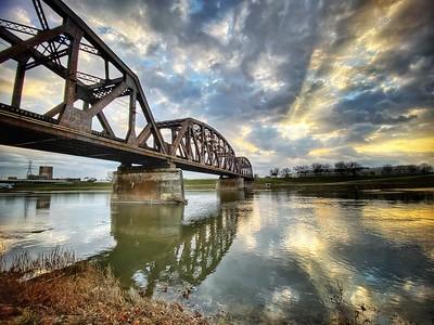 CSX Train Bridge over the Great Miami