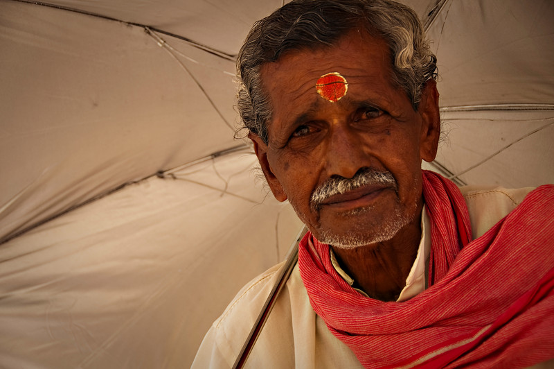 Indian Man at Ganges