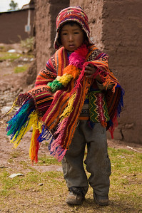 Young Andean Boy