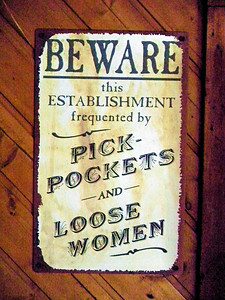 We ate lunch at Lydia's.  The establishment is frequented by pickpockets and loose women.  Wouldn't you know it was the loose women's day off and all they had in the place was pickpockets.