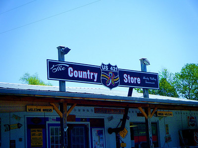 The Country Store, in Shady Valley, Tennessee is about midway through The Snake; a road that stretches over One Valley, Three Mountains and 489 delicious curves!  WOW!