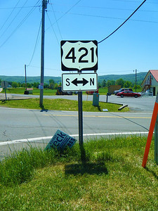 Route 421 in Shady Valley, Tennessee