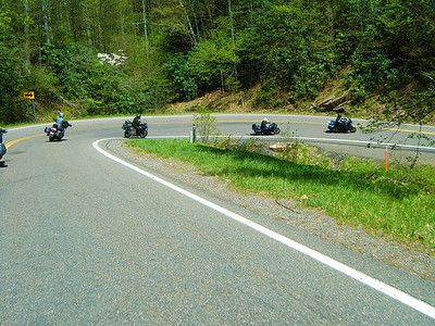 If you like hairpins, The Snake is your kinda road!