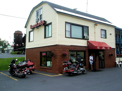 The EconoLodge in Glens Falls, NY where we met the rest of the crew on the New England Backroads ride.