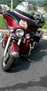 Mike's 2002 Harley.  Looks reliable.  Looks can be deceiving