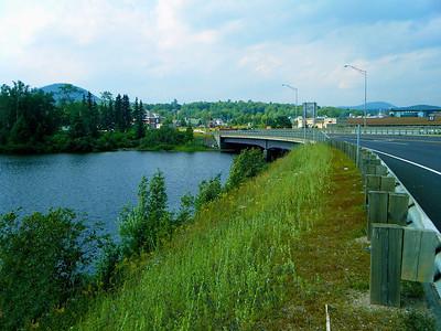 The Bridge across Island Pond