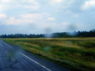 0270 Rain on Vt Rt 100 North