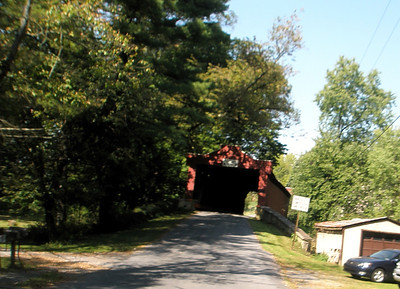 We discovered a second covered bridge just roaming around the backroads of Berks county near Kutztown.