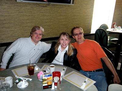 Chris, Darlene and Frank