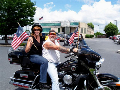 How can a ride that starts with Joni and Chopper Joe flying the American Flag end badly?  It didn't!