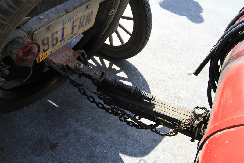 Not like the trailer hitches we are used to today.