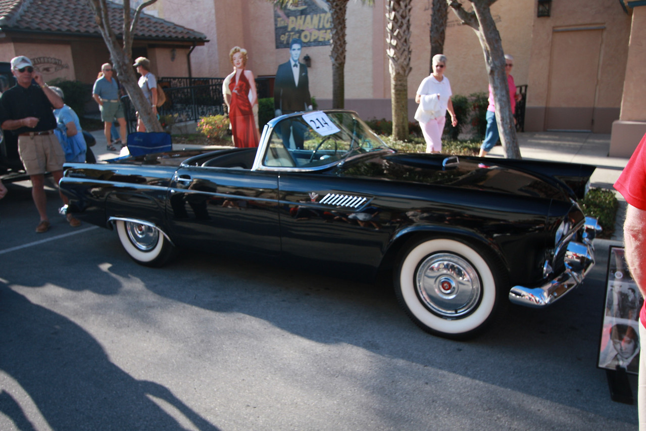 The next picture explains the history of this 55 Thunderbird