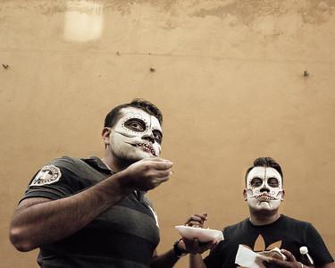 Faces - Día de los Muertos