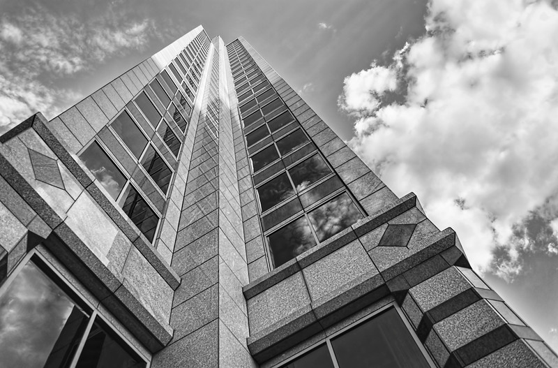 Tower To The Sky, In Monochrome