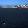 Sailing back to the Marina