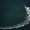 Kite Surfing near the Golden Gate Bridge