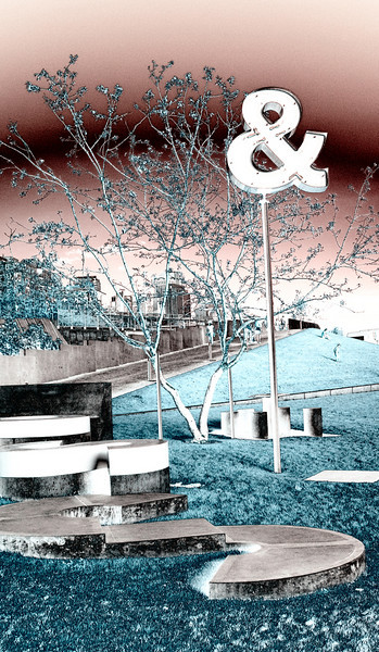 Olympic Sculpture Park<br /> Seattle, WA<br /> Infrared converted D200 enhanced color