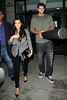 Non-Exclusive <br /> 2011 Aug 30 - Kim Kardashian heads out with Kris Humphries holding a floating styrofoam pool toy from his apartment in Hoboken, NJ.   Photo Cedit Jackson Lee