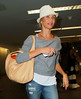 Non-Exclusive <br /> 2011 Sept 4 - Cameron Diaz arrives at LaGuardia Airport in NYC.  Photo Credit Jackson Lee