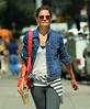 NON EXCLUSIVE<br /> 2011 Sept 9 - Katie Holmes out and about in NYC.  Photo Credit Jackson Lee