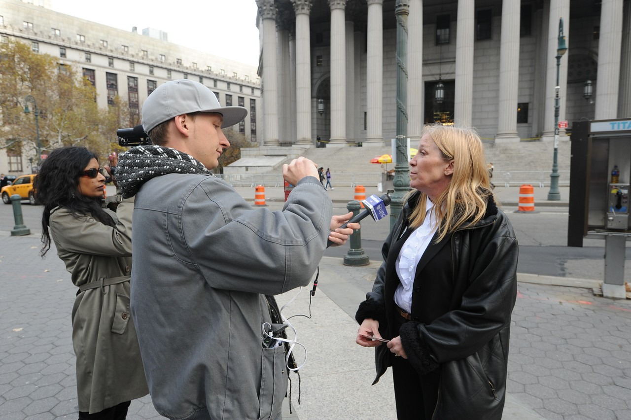 Luke Rudkowski (We Are Change NYC) & Priya Reddy interview Jeremy Hammond's mother on the day of his sentencing.