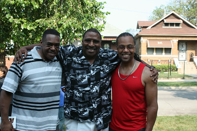 20140802 75th & Aberdeen Block Party Boyz in Da Hood Friends...Kenneth,Keith and Kenneth
