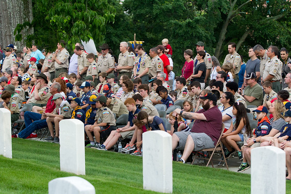 2018-5-26 FLAG CEREMONY - MARIETTA NATIONAL CEMETERY