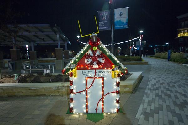 2018  Sandy Springs Christmas Lights