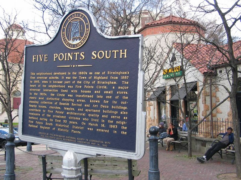 Historic 5 Points South