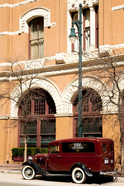 """The Driskill Hotel - Cattle Baron Hotel Built In The 1800's<br /> <br />  <a href=""""http://en.wikipedia.org/wiki/Driskill_Hotel"""">http://en.wikipedia.org/wiki/Driskill_Hotel</a>"""