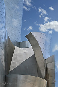 Disney Concert Hall ~ This is one view of the amazing concert hall built by Disney.