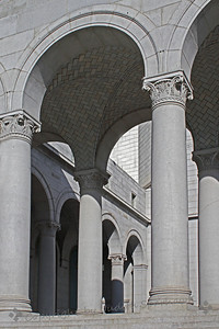 Columns and Arches ~ This is a view of the front of Los Angeles City Hall.