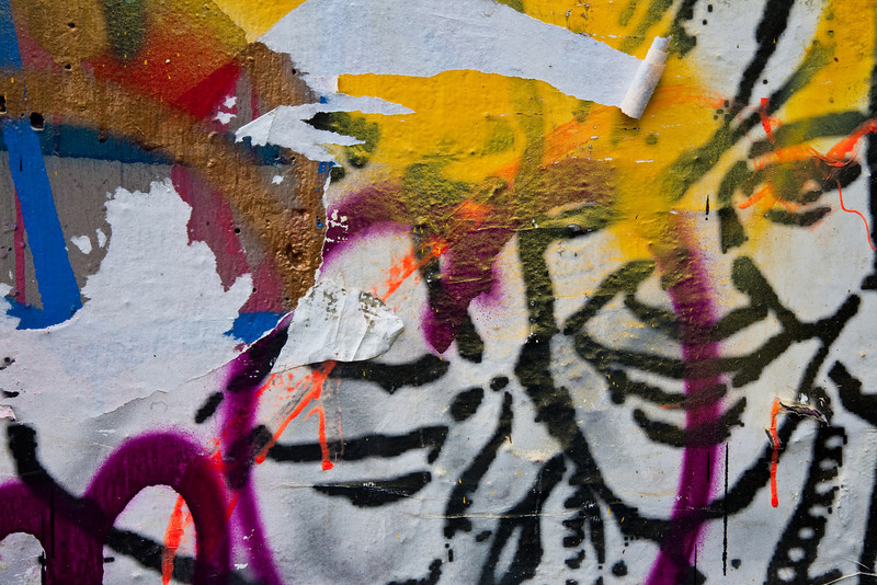 Abstract from Castle Hill Graffiti.