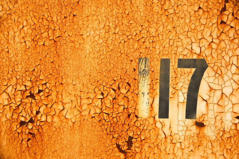 Element 117 - Rust and Metal Series
