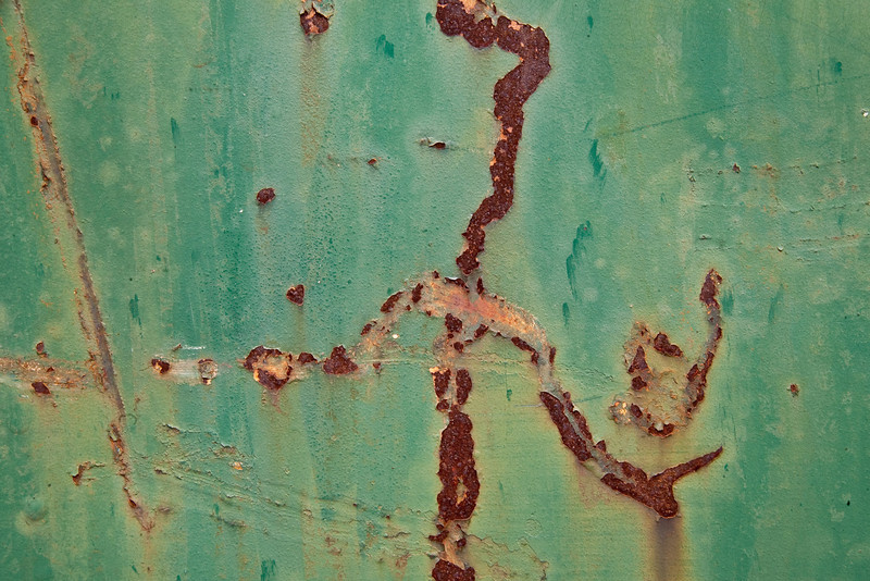 Abstract - Rust And Metal Series