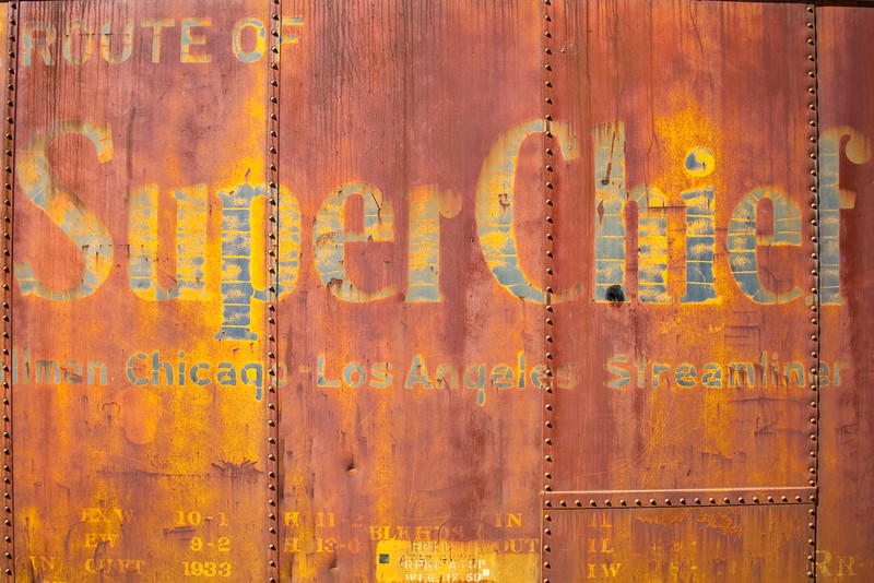 """Streamliner - Box Car Series<br />  <a href=""""http://en.wikipedia.org/wiki/Super_Chief"""">http://en.wikipedia.org/wiki/Super_Chief</a><br /> <br /> Purchase Prints, Framed Prints, Canvas Prints, Metal Prints, and On a Acrylic as well through this link - <br />  <a href=""""http://fineartamerica.com/featured/streamliner-mark-weaver.html?newartwork=true"""">http://fineartamerica.com/featured/streamliner-mark-weaver.html?newartwork=true</a>"""