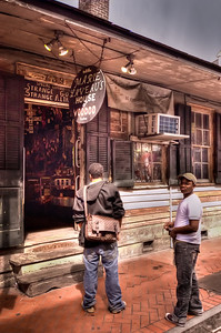 YOU GO...NO, YOU GO! The allure of Bourbon Street New Orleans LA.