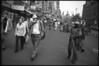 Damrak - IJseter en straatveger 1996
